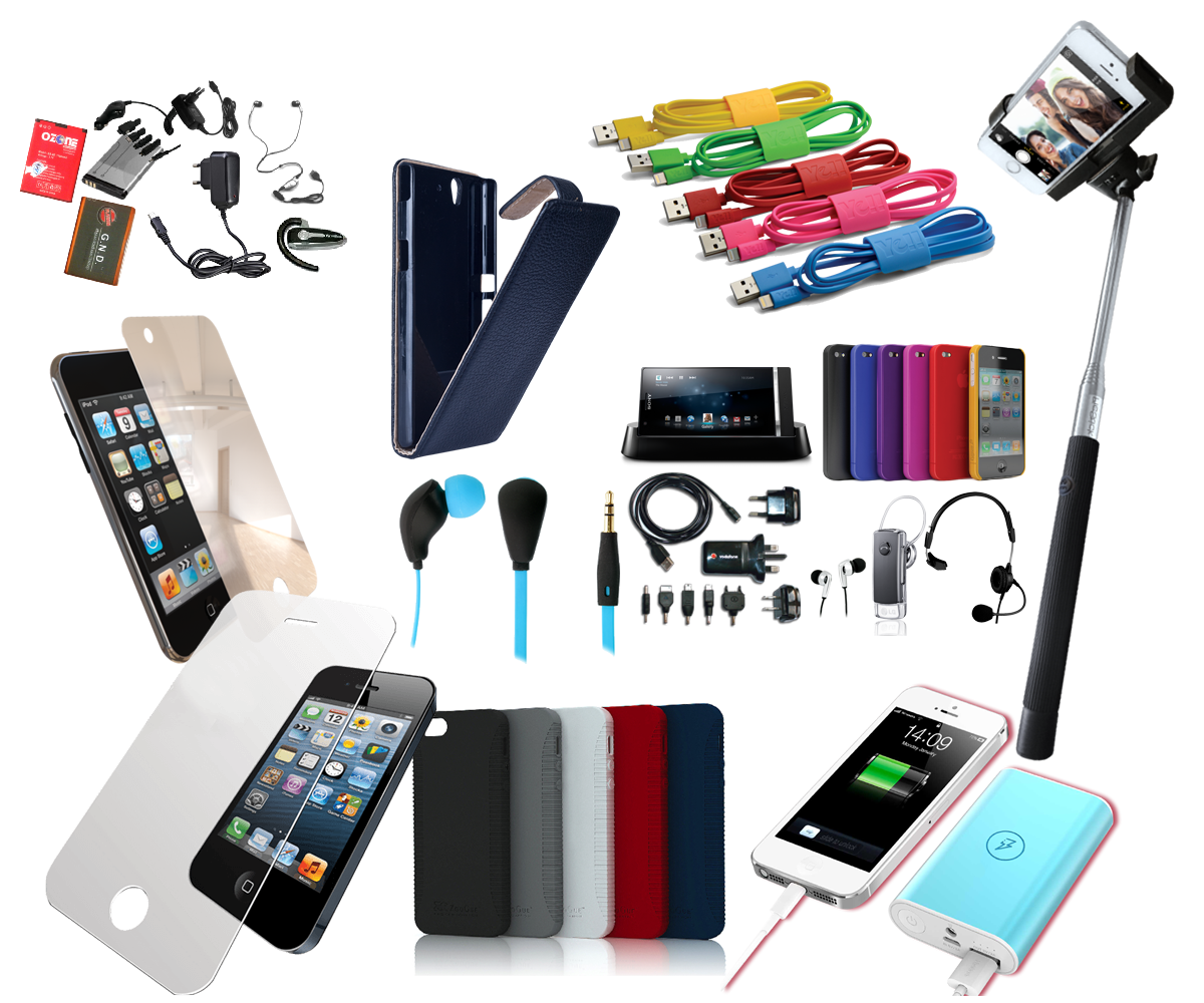 Image result for all phone accessories image